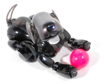 An AIBO robot dog. Credit: Sony Corporation
